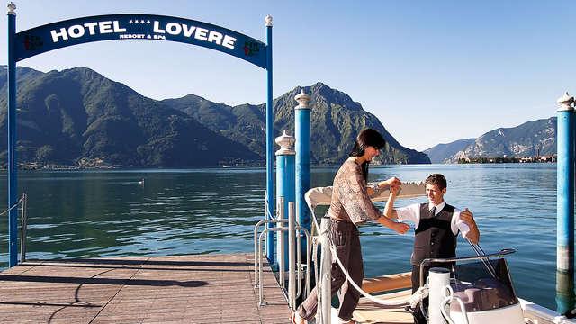 Détendez-vous et vivez des moments magiques sur le lac d'Iseo