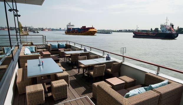 Séjour dans la Meuse hollandaise et la belle métropole de Rotterdam