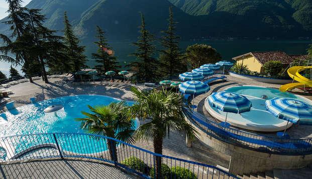 Relax, masajes y delicias culinarias en el lago de Lugano (desde 2 noches)