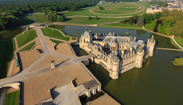 Ontspannend weekendje weg met toegang tot het Domaine de Chantilly