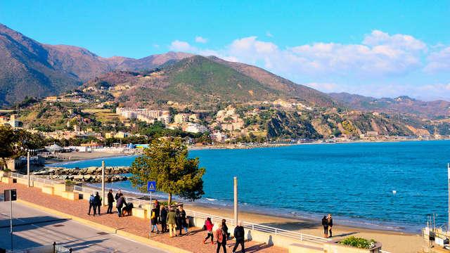Soggiorno da 3 notti in un hotel a strapiombo sul mare della Liguria