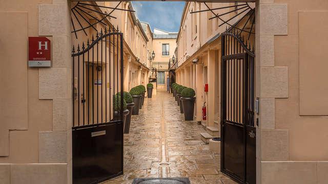 Weekend met bevoorrechte kamer in trendy Parijs