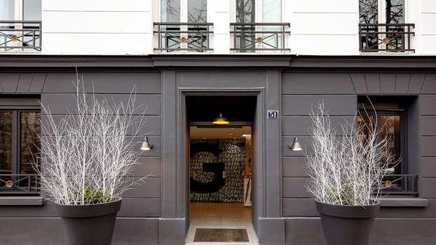 Week-end à Paris dans un hôtel design près des Batignolles