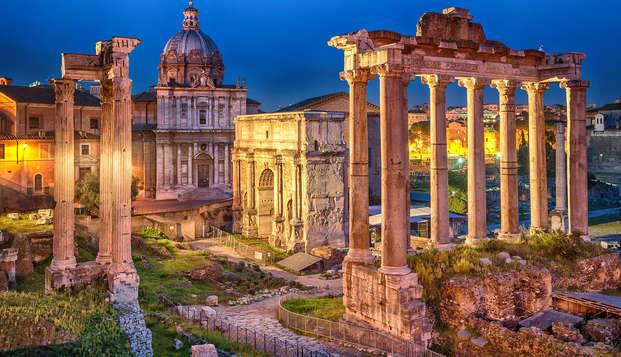 Offerta a Roma: due notti a tariffa speciale con bottiglia di vino in camera