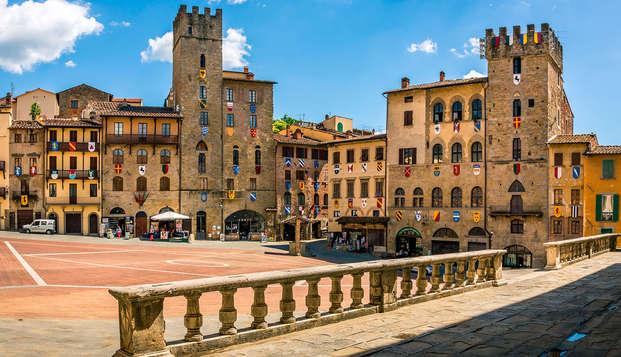 Séjour à l'hôtel Il Gentiluomo, dans l'historique Arezzo