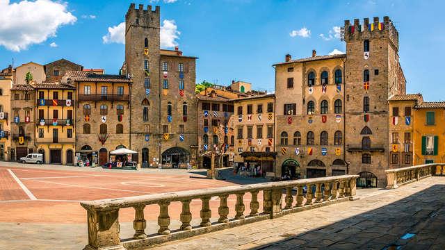 Estancia en el hotel Il Gentiluomo en la histórica Arezzo