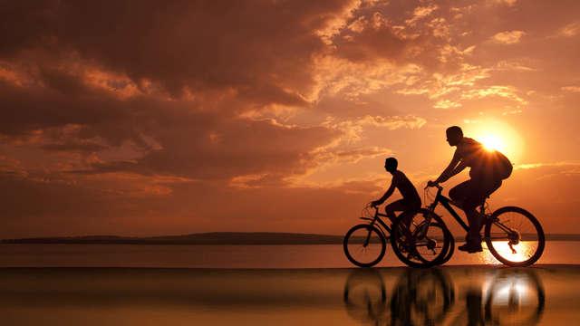 Randonnée sur les pistes cyclables pour 2 adultes
