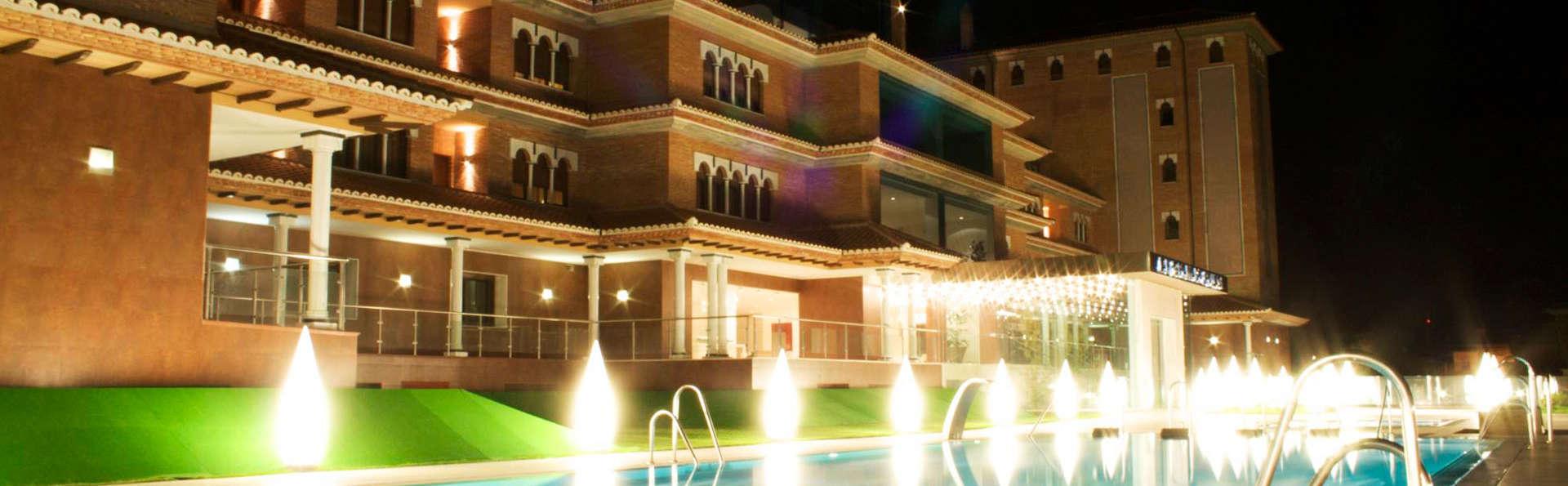 Relax con bañera de hidromasaje y spa a 10 minutos de la Alhambra
