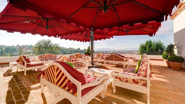 Romantisch weekendje in suite in een villa ten noorden van Firenze met diner en massage