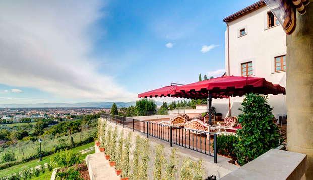 Risparmia sui soggiorni lunghi a Firenze: vacanze in un'antica villa e cena con vista (da 3 notti)