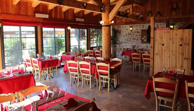 Escapade avec dîner à la montagne, au coeur des Hautes-Alpes