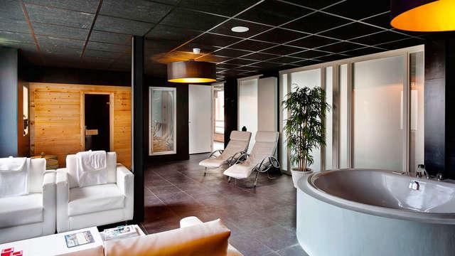 Genieten van luxe en gastvrijheid met toegang tot privésauna