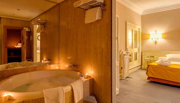 Lujo, Romanticismo y Spa Lovers: Suite con jacuzzi ,Spa, y mil detalles en Madrid