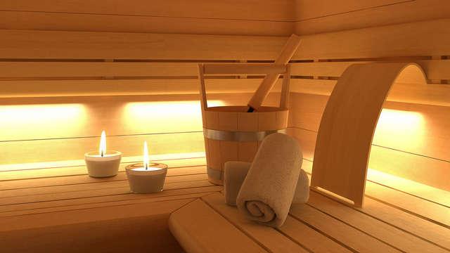 Citytrip met sauna nabij het mooie Brugge