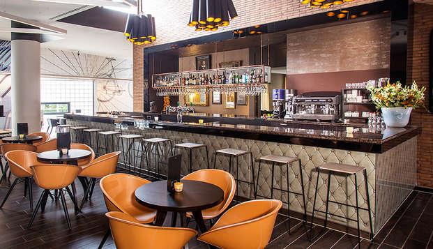 Verken Rotterdam met luxe verblijf en 3-gangen diner (vanaf 2 nachten)