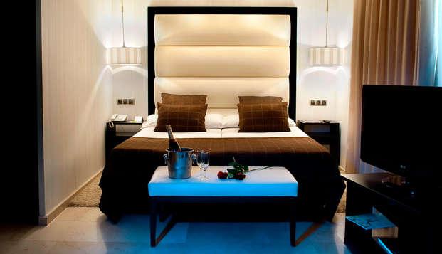 Alójate en un hotel de diseño y elegancia en Chamartín con detalle de bienvenida