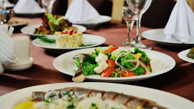 1 cena 3 platos