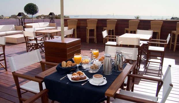 Hotel Colon Thalasso Termal - buffeterrace