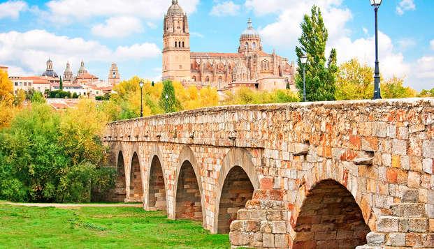 Descubre las maravillas de Salamanca con aperitivo de bienvenida y descuentos (desde 2 noches)
