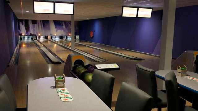 Bowling en groupe avec 2+ chambres et plaisirs culinaires dans le sud des Pays-Bas !