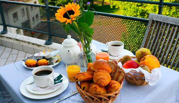 Le Jean Sebastien Bach - breakfast tarrace