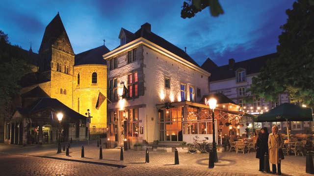 Bourgondisch genieten in Maastricht inclusief Belgisch bierplankje