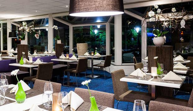 Comfort en een 3-gangen diner in het Bourgondische Maastricht