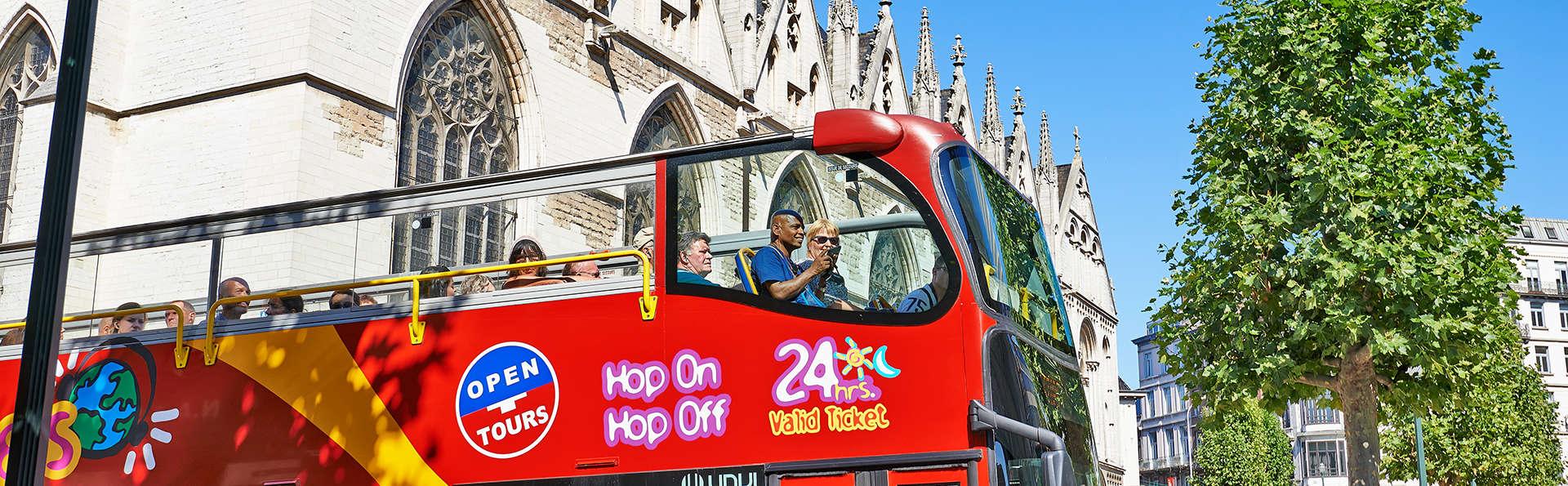 City-trip dans la capitale belge avec visite touristique en bus offerte