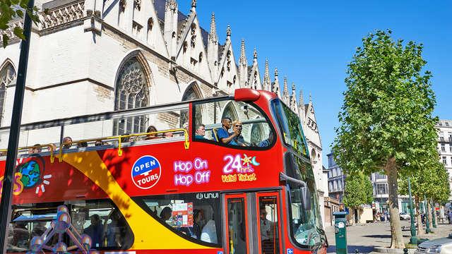 Alojamiento de lujo acompañado de un paseo en bus por la ciudad de Bruselas