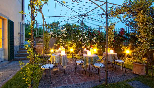 Romantisme dans une villa d'époque à Cortone