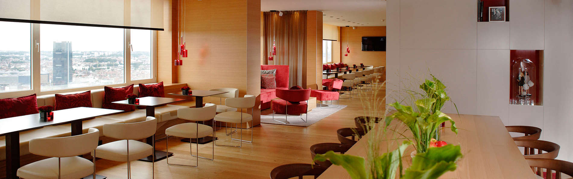 Luxueus weekend met toegang tot de Panorama Lounge in bruisend Brussel