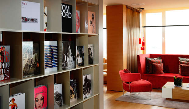 The Hotel Brussels - Panorama Lounge - Fashion library