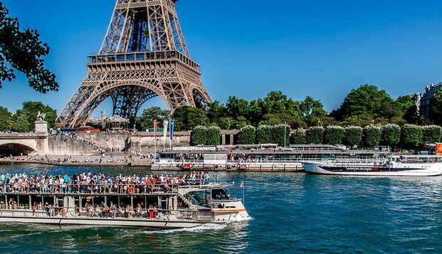 Séjour d'été à Paris et dîner croisière sur la Seine