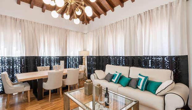 Oro del Darro Suites - livingroom