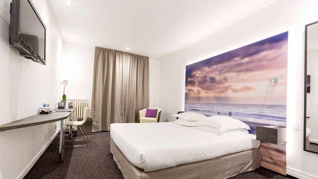 Verblijf in superieure kamer in het hart van Le Havre