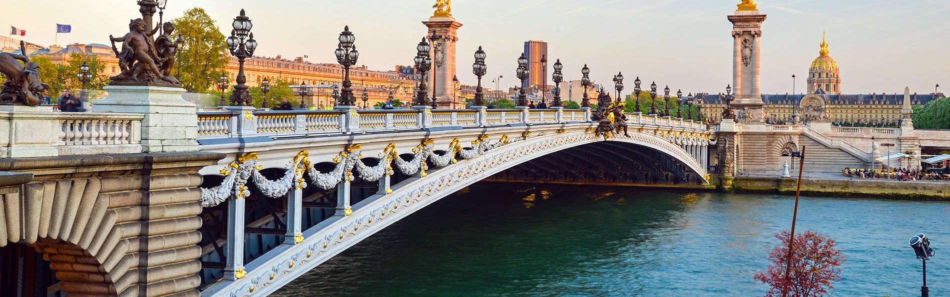 Découverte de Paris avec croisière sur la Seine