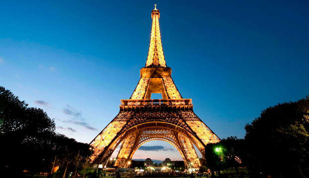 Weekend in superior kamer met panoramisch uitzicht over Parijs