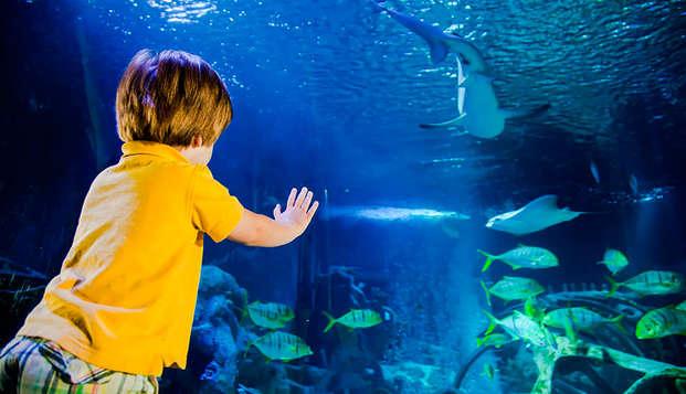 Week-end en famille avec entrées pour l'Aquarium et visite du Musée Grévin !