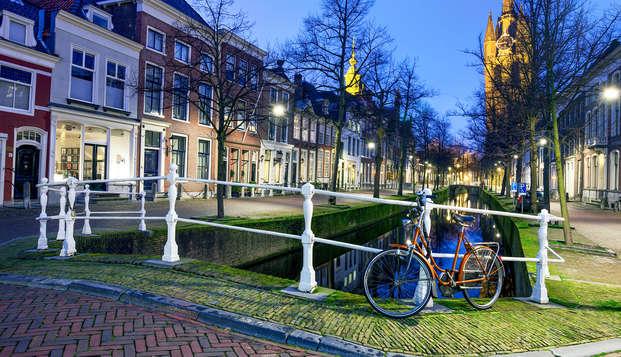 Romantiek, bubbels en chocolade in het historische centrum van Delft
