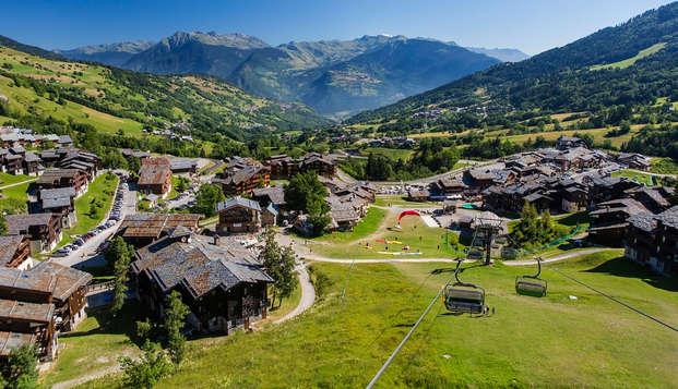 Diner en ontspanning in de Franse Alpen