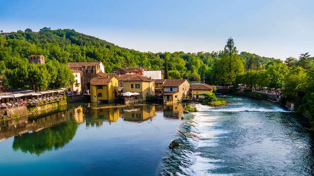 Séjour avec dîner à Valeggio sul Mincio, entre Vérone et le lac de Garde !