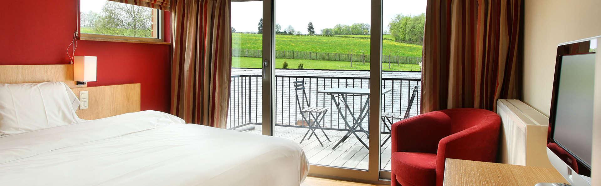 Geniet van een kamer met een super terras met uitzicht op het meer