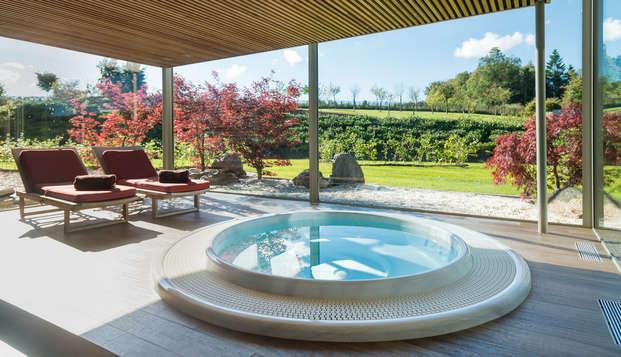 Spectaculaire spa avec vue sur lac au cœur des Ardennes