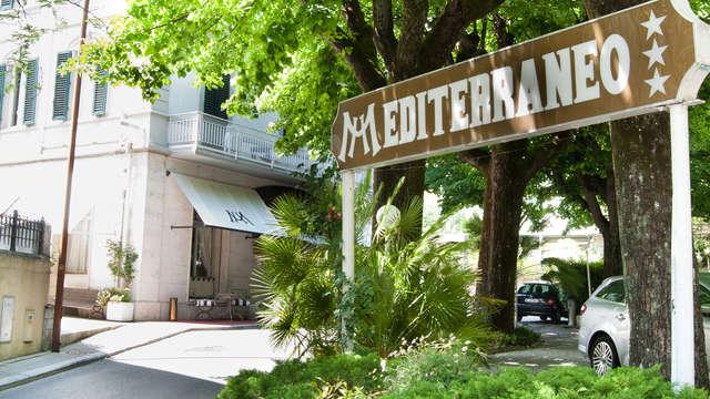 Estancia de dos noche en el Hotel Mediterraneo