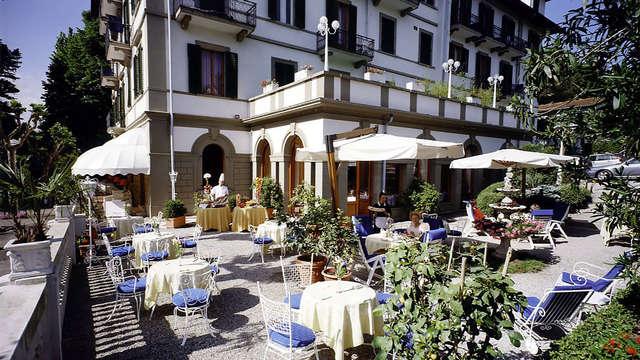 Descubre Montecatini con media pensión y acceso al spa
