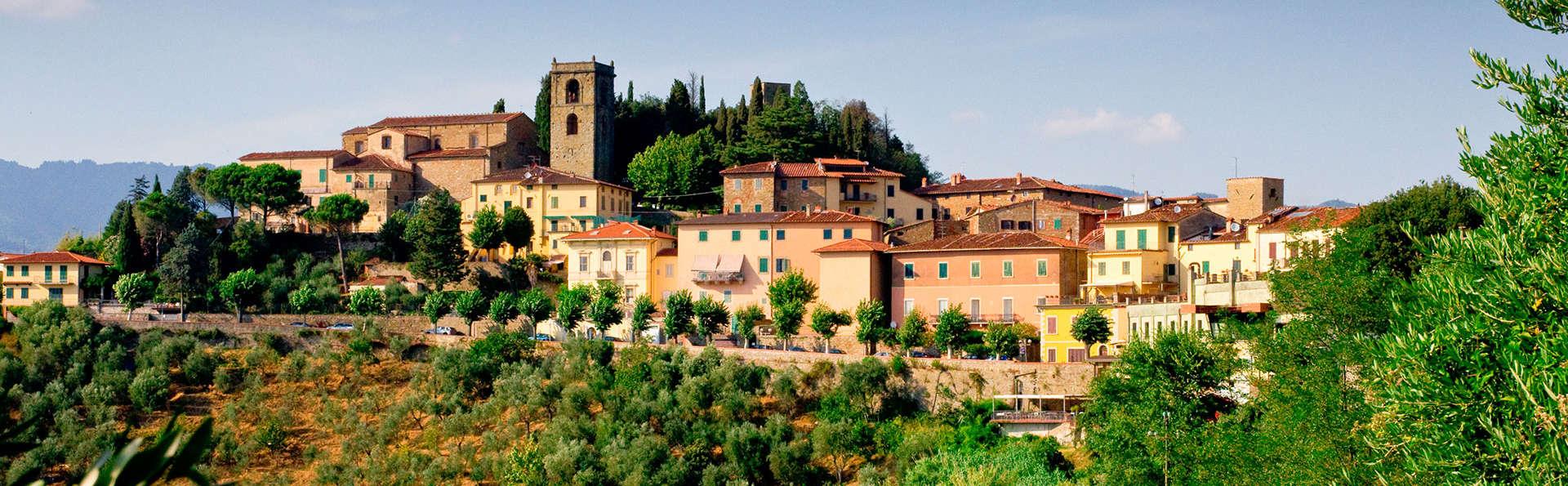 Nature, détente et cuisine toscane : Montecatini avec verre de bienvenue
