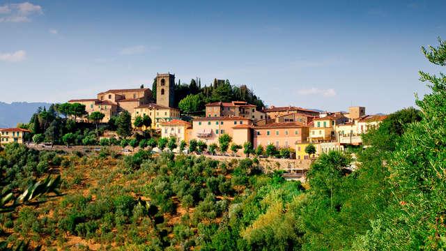 Naturaleza, relax y buena cocina: descubre Montecatini con vaso de bienvenida