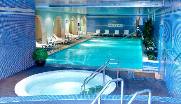 Desconexión con circuito spa en hotel muy cerca de las preciosas calas de la Costa Brava