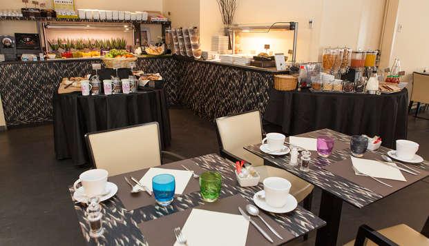 Eden Hotel Spa - breakfast