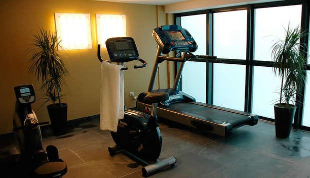 Eden Hotel Spa - gym